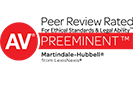 AV Preeminent Peer Review Rated - Logo